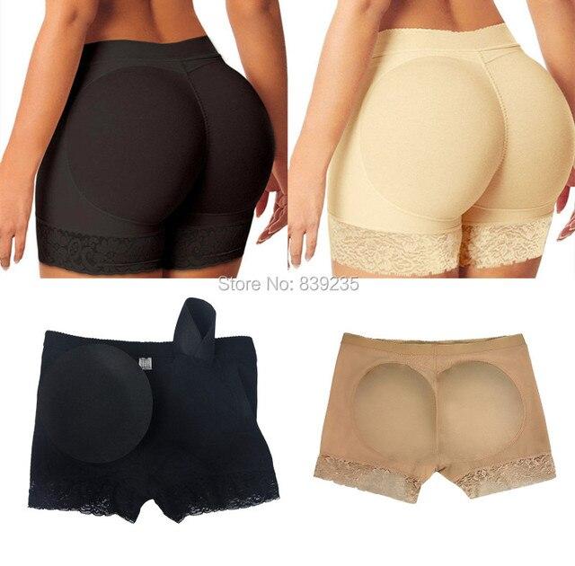 2558fb4b55a0e S - 2XL Plus size Women Abundant buttocks pants Butt LIft Boyshort  underwear Brazilian Butt Lifter Booty Butt Enhancer