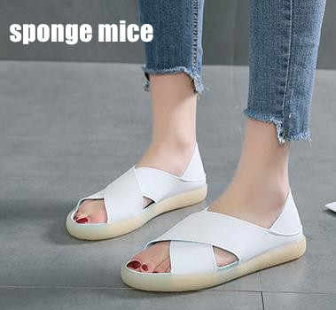 Flat Sandals soft soles non slip