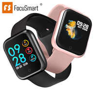 2019 Focusmart New P70 Smart Watch Full-Time Step Counter Alarm Function Call Reminder Remote Photo Night Light Dial Smart Watch