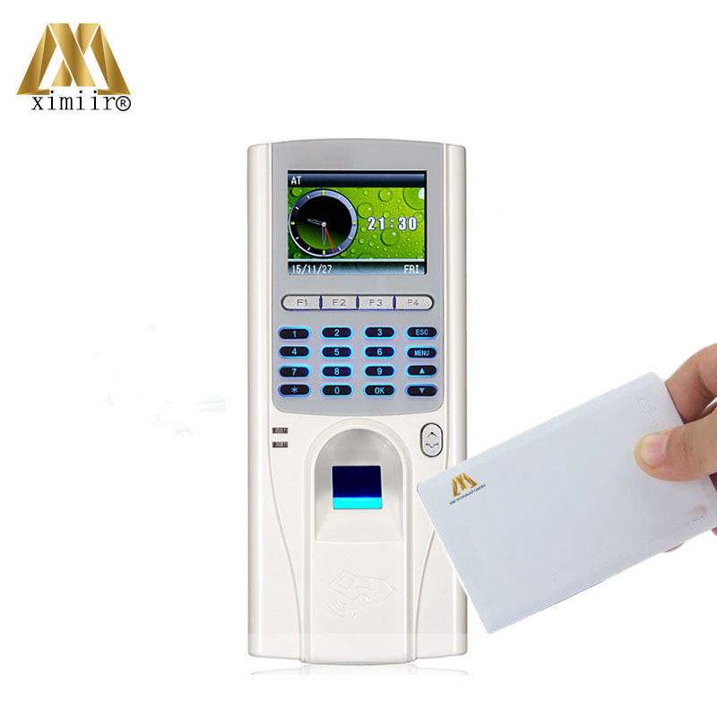 Free Software XM33 Biometric Fingerprint Access Control With 13.56MHz IC Card Reader TCP/IP Fingerprint Time Attendance Machine