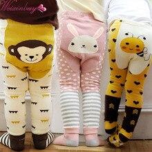 WEIXINBUY/брендовые колготки унисекс с рисунком пчелы, обезьяны, кролика; хлопковые колготки для маленьких девочек и мальчиков; детские колготки; узкие брюки