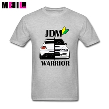 JDM Warrior T shirt Cotton White Short Sleeve Custom Party T Shirts Awesome XXXL