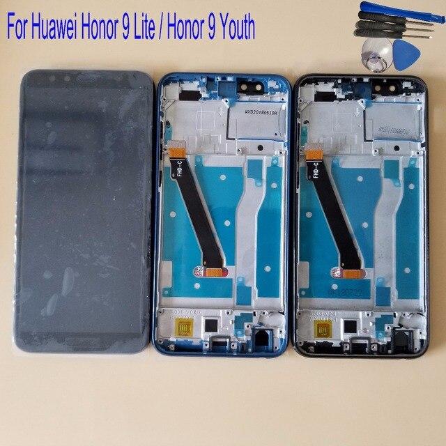 """جديد 5.65 """"لهواوي الشرف 9 لايت LLD AL00 LLD AL10 LLD TL10 LLD L31 شاشة الكريستال السائل مجموعة المحولات الرقمية لشاشة تعمل بلمس"""