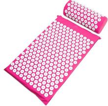 Akupunktura poduszka materac akupresura Spike joga mata do masażu klocki masaż głowy poduszka