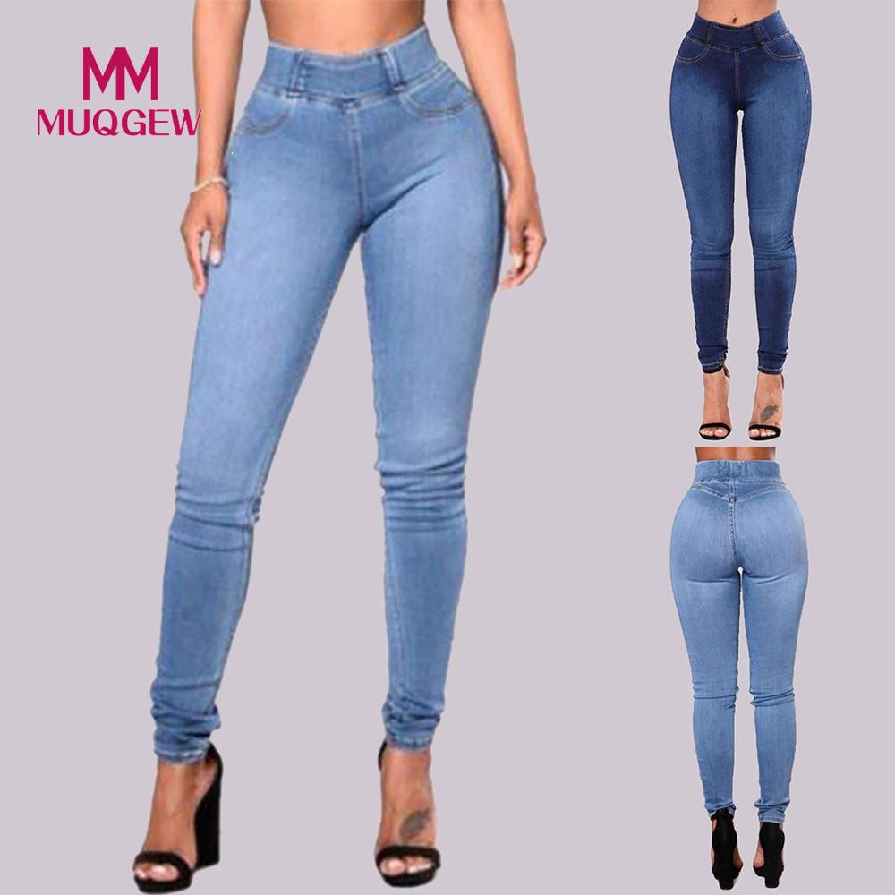 Women Slim Solid   jeans   trousers women Pockets Long   Jeans   Denim Sexy Skinny push up   jeans   women Pants Daily Trousers39#G8