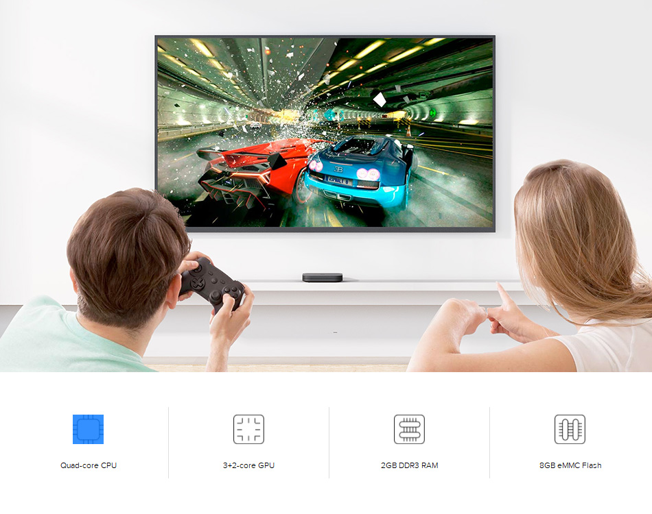 Xiaomi Mi Box S 4K HDR Android TV with Google Assistant Remote Streaming Media Player (11)