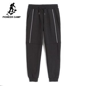 Image 1 - Pioneer Camp Neue verdicken jogginghose männer marke kleidung winter warme fleece casual hosen männlichen qualität baumwolle hosen AWK702322