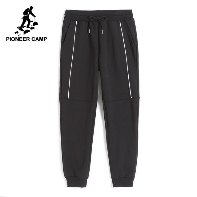 Pioneer Camp Neue verdicken jogginghose männer marke kleidung winter warme fleece casual hosen männlichen qualität baumwolle hosen AWK702322