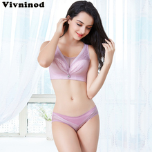 69372812d578c Push Up Bralette Bra Set For Women Full Coverage Underwear Set Wire Free  Sexy Lace Plus