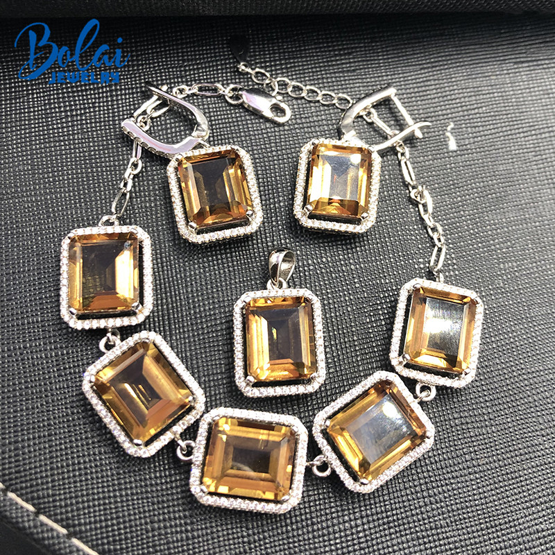 Bolai big nano diaspore color change jewelry sets in 925 sterling silver bracelets pendant earrings for women gemstone weddingBolai big nano diaspore color change jewelry sets in 925 sterling silver bracelets pendant earrings for women gemstone wedding