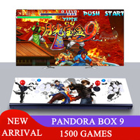 Pandora Box 6 1300 in 1 8 button Family 2 players joystick arcade console support add FBA MAME PS1 game can add up to 3000 games