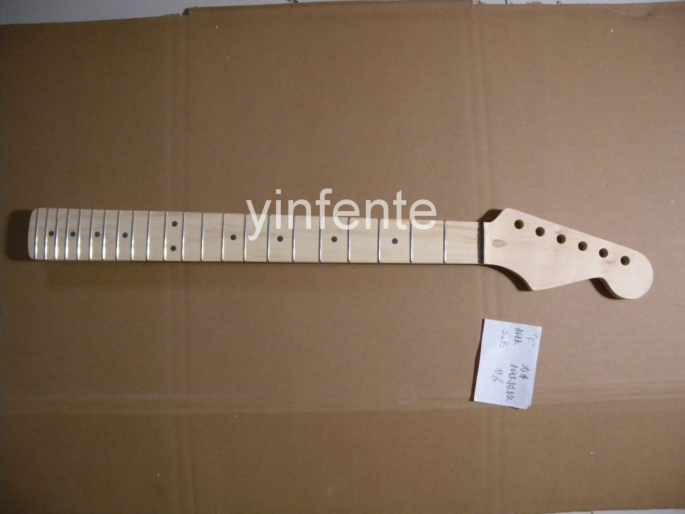 New High Quality Unfinished electric guitar neck Maple wood Body & fingerboard model 1pcs #3 high quality custom shop lp jazz hollow body electric guitar vibrato system rosewood fingerboard mahogany body guitar