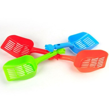 Cat Litter Shovel Pet Beauty Cleanning Tool Plastic Scoop Cat Sand Cleaning Toilet For Dog Food Spoons Pet Products