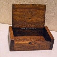 50pcs Toothpick Box Wood Toothpick Holder Mini Box Kitchen D