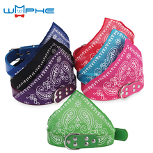 hot deal buy  adjustable dog bandana neckerchief pet dog collar puppy cat scarf collar paisley pattern tie collar pet accessories