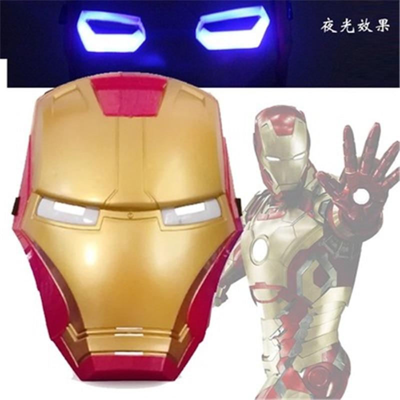 Marvel Мстители 3 Возраст Альтрона Халка черная Widow Vision Ultron Железный человек Капитан Америка Фигурки Модель игрушки - Цвет: light ironman