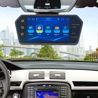 7 LCD Display Universal Rear View Mirror Car Monitor Car Mirror Video Audio With USB/SD/BT Audio Output Mirror Screen