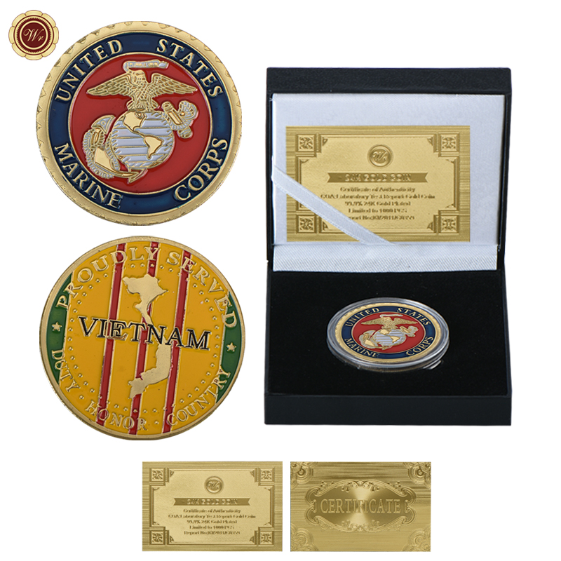 Aliexpress.com : Buy WR United States Corps Marine Gold