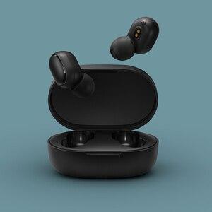 Image 2 - מקורי Xiaomi Redmi AirDots 2 אלחוטי Bluetooth 5.0 אוזניות סטריאו באוזן בס אוזניות עם מיקרופון שמאל ימין נמוך פיגור מצב