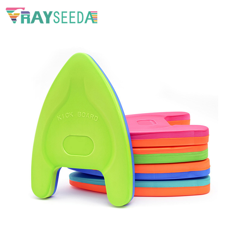 A Shaped Children Summer Swimming Kickboard Thicken Colorful EVA Floating Boards For Kids Beginners Swimming Safety Air Mattress