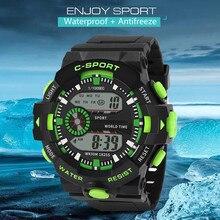 Sports Watch Luxury Men Digital Military Sport LED Waterproof Wrist Watch New Relogio Masculino For Gifts