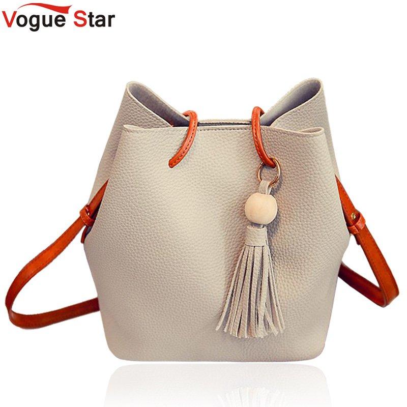 Vogue star Fashion Casual Tassel Women Bag Litchi PU Leather Women Top-handle Bag Single Shoulder Bag Women Crossbody Bag LB175 tassel decor crossbody bag