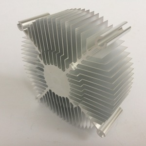 Image 4 - Factory direct sales 95*95*35mm CPU round cooler   Computer chip cooler
