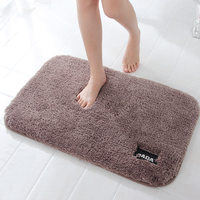 High Quality Fluffy Carpet Anti Slip Bathroom Kitchen Carpet Highly Absorbent Rugs For Kitchen Soft Doormat