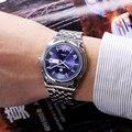 Nueva Llegada de Papel Marca Relojes hombres Reloj de Cuarzo Ocasional Impermeable de Diamantes Horas Relogio Masculino Reloj de Pulsera Deportivo de Acero Inoxidable