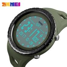 цены на SKMEI Men Sports Watches Double Time Countdown 5Alarm Watch LED 50M Water Resistant Digital Wristwatches Relogio Masculino 1246  в интернет-магазинах