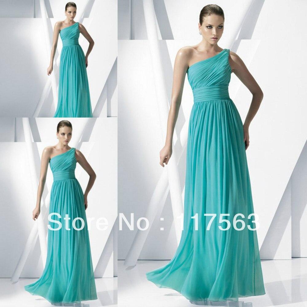 Vestidos para damas azul turquesa