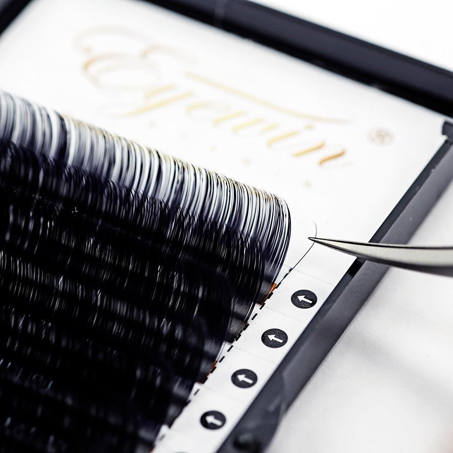 Eyewin 20 case C/D Curl Faux Individual Eyelash for Professional Eyelashes lash Soft Makeup Maquiagem Mink Eyelash extension