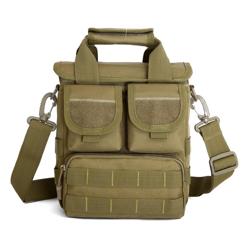 Facecozy Men Outdoor Camping&Hiking Bag Single Shoulder Bags 600D Nylon Tactical Handy Bags