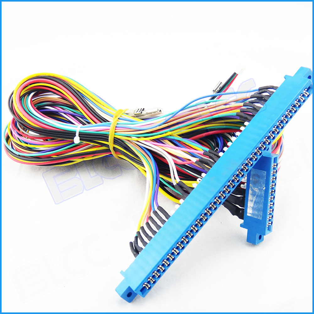 2pcs 10pin 36pin Jamma Harness Arcade Game Red Board Wiring For Electrical Games Casino Mega Machine Accessory In Coin Operated From Sports Entertainment On