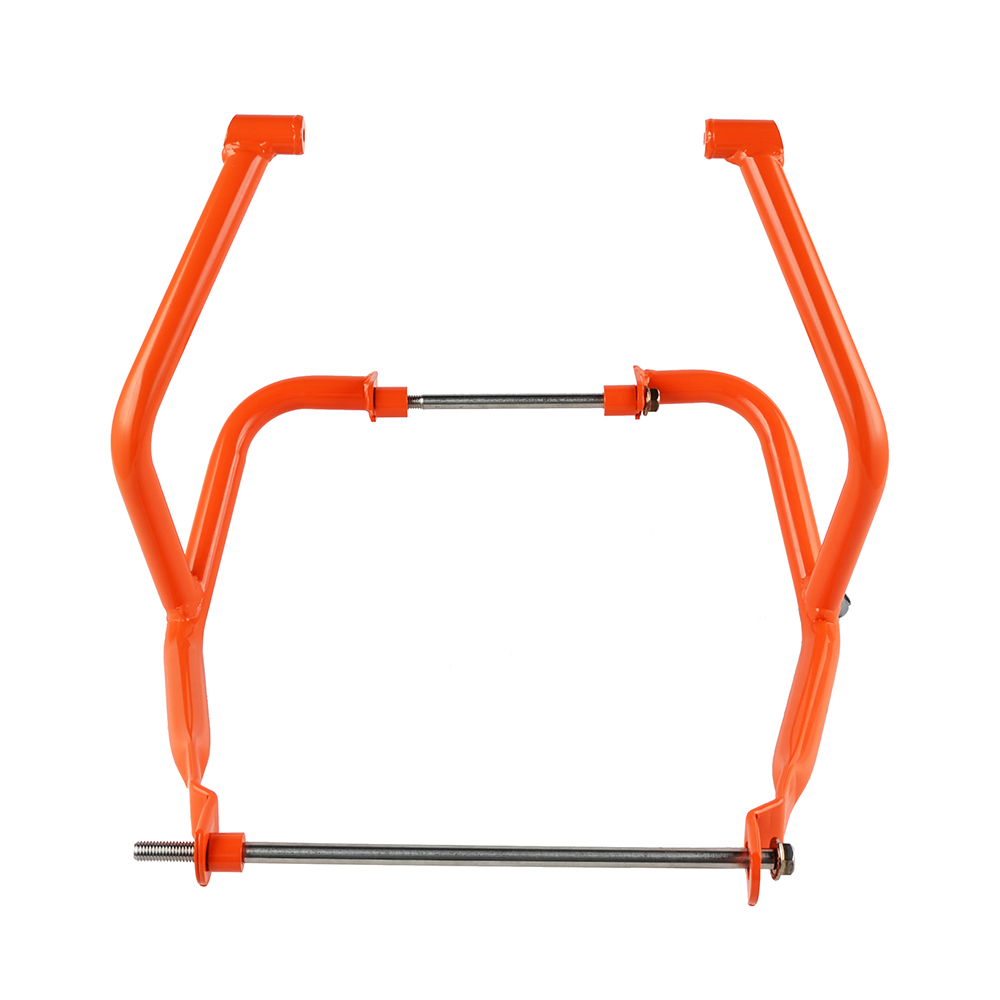 Nicecnc Motorcycle Crankcase Guard Engine Crash Bar Frame Ktm 250 Diagram Bumper Protector For Duke 390 2017 2018 Orange In Covers Ornamental Mouldings From