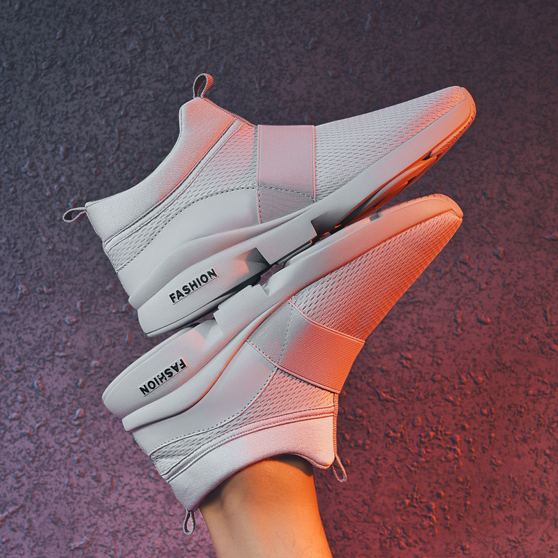 Men's Shoes Men's Casual Shoes Audacious New Brand Summer New Fashion Sneakers Shoes Big Size Men Casual Loafers Shoes Male Flats Shoes 39-46 Lf-20pb Lovely Luster