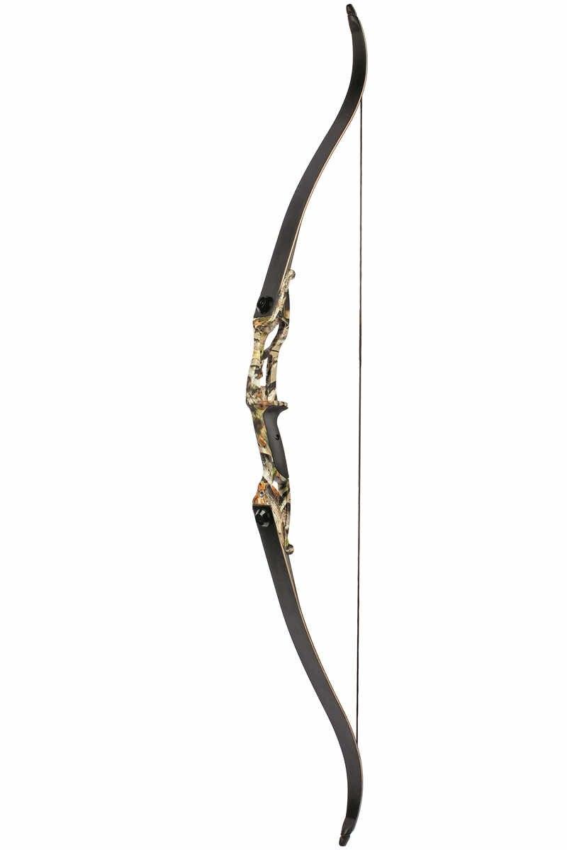 3 Warna 30-50 Lbs Logam Riser Recurve Busur 56 Inch Busur Berburu Brace Tinggi Panjang Tradisional Berburu Busur
