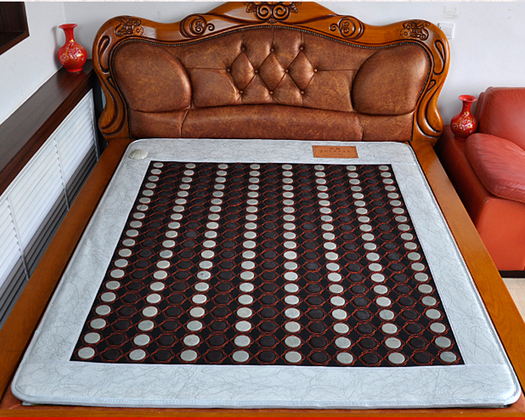 Korea Infrared Magnetic Mattress Full Body Relief Mattress Heat Jade Tourmaline Germanium As Seen On TV Free Shipping 1.2*1.9M 2016 new hottest in thailand mattress jade mattress germanium tourmaline infrared mattress with heat for sale 2015