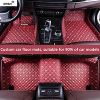 XWSN custom car floor mat for Chrysler 300C Grand Voyager Sebring auto accessories Car styling Car carpet