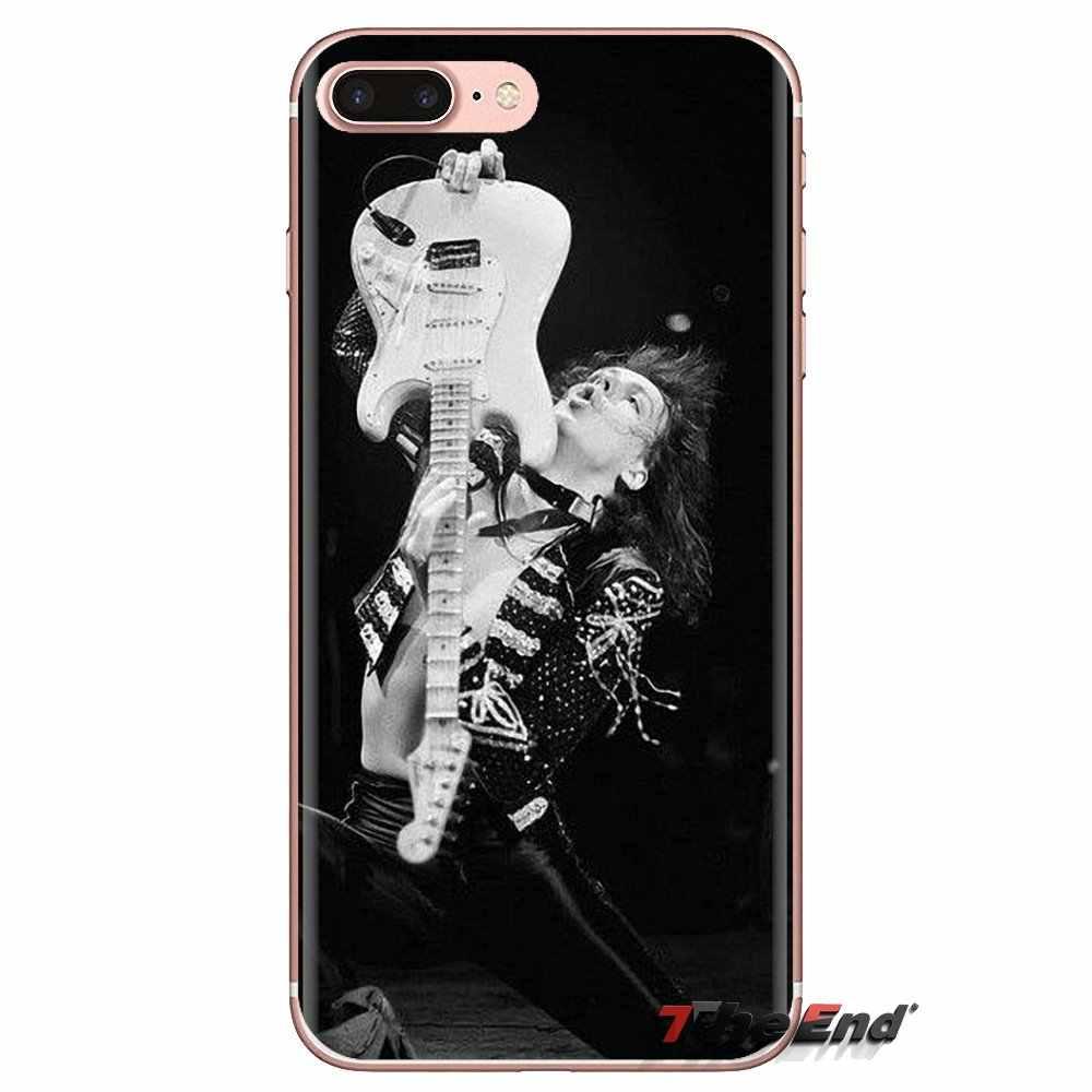 Funda transparente suave cubre Yngwie Malmsteen guitarra Sexy para hombre Huawei Mate Honor 4C 5C 5X6X7 7A 7C 8 9 10 8C 8X20 Lite Pro