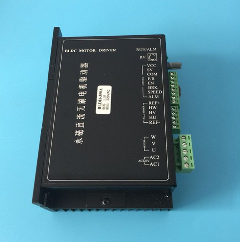 220VAC BLDC Motor Driver Controller 350W AC180V-220V Input Brushless DC Motor Driver BLDH-350A holding the line