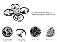 JMT ET125 PNP безщеточный FPV RC гоночный Drone Мини Quadcopter Совместимость с Frsky приемник