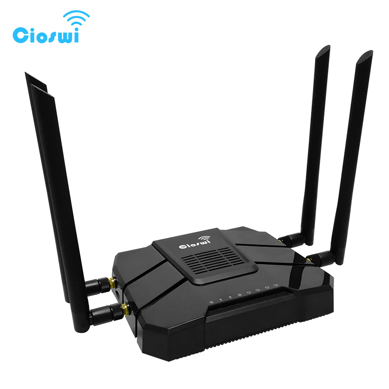 4g Wifi Router With Sim Card Slot Lte Modem Ac1200mbps Dual Band 5G Gigabit 3g 4g Routers For Office Long Range