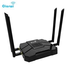 CSW WR246 4g wifi נתב עם כרטיס ה sim חריץ lte מודם usb 802.11AC 1200 dual band 5G gigabit 3g נתב עבור משרד ארוך טווח