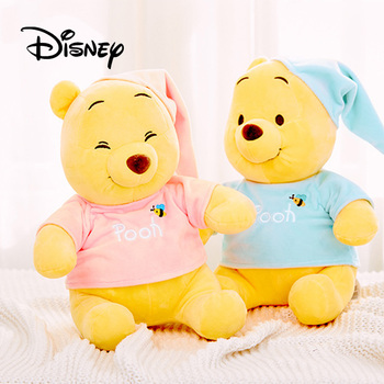 2019 Disney Kawaii Winnie The Pooh Plush Doll Toys Stuffed Animal Bear Stuffed Doll Cute Plush Toys Children Kids Birthday Gifts