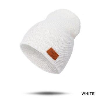 Παιδικά πλεκτά χειμερινά σκουφάκια σε διάφορα χρώματα Παιδικά Ρούχα Ρούχα MSOW