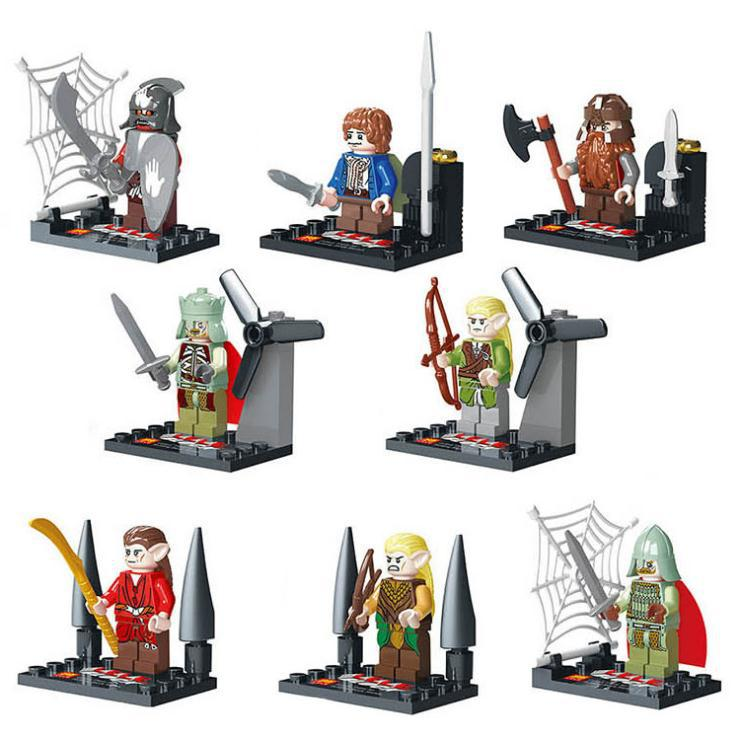 LELE 78051 Hobbit Building Block Action Figure,lord rings classic toys Compatible Lego T7 - factory LEGOtoys store