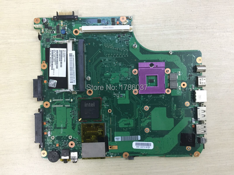 цена Free Shipping V000126450  for Toshiba Satellite A300  A305 INTEL series motherboard .All functions 100% fully Tested !