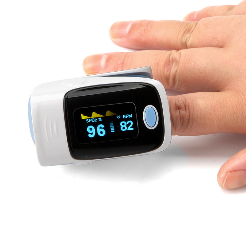 New Oximeter Fingertip Pulse Detector Blood Oxygen Meter SpO2 Monitor Saturation Heart Rate Display Free Shipping I114  gpyoja probe heart pulse rate blood oxygen sensor paitent monitor spo2 finger oxi meter