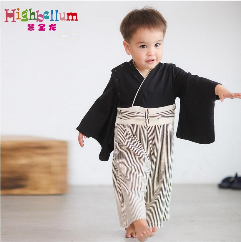 Japanese Baby Kimono Rompers Spring Autumn Baby Boy Girl Clothes Jumpsuit Animal Warm Rompers Baby Newborn Clothes Pajamas boy girl rompers autumn baby cotton one pcs rompers baby long sleeve jumpsuit bebe coverall baby pajamas